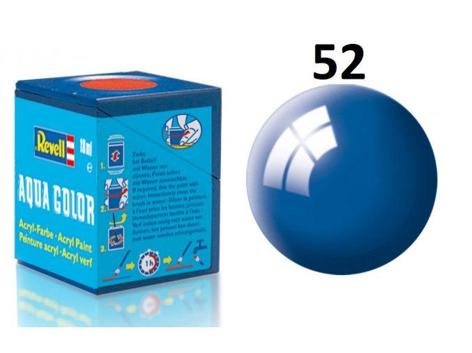 Revell barva akrylová - 36152: lesklá modrá (blue gloss)