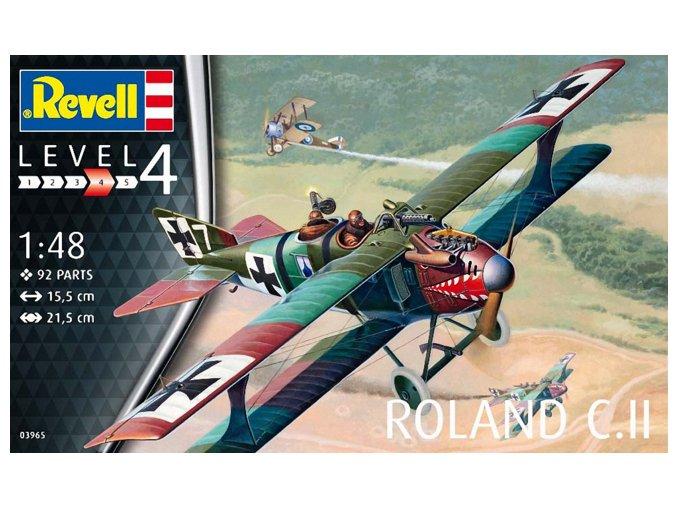 Revell letadlo Roland C. II 1:48 03965