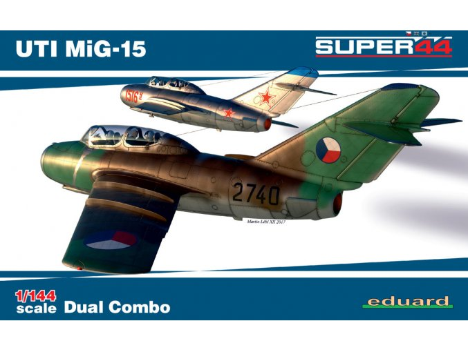 Eduard UTI MiG-15 Dual Combo 1:144 4444