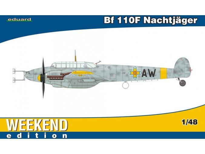 Eduard Bf 110F Nachtjäger 1:48 84145