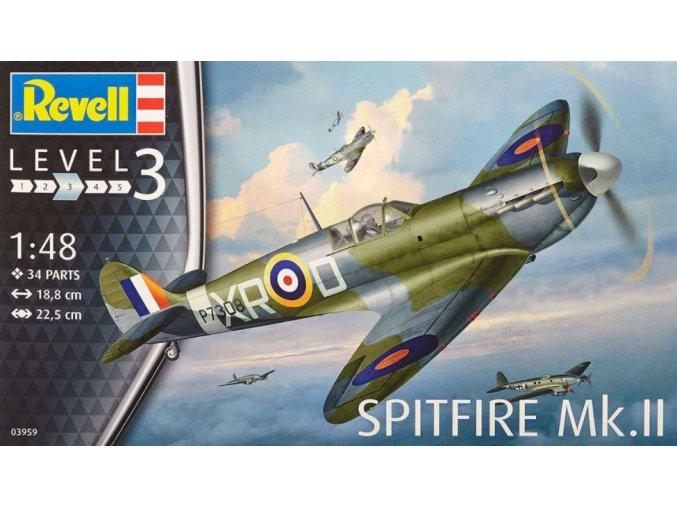 Revell letadlo Supermarine Spitfire Mk. II 1:48 03959