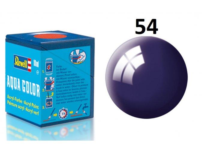 Revell barva akrylová - 36154: lesklá noční modrá (night blue gloss)