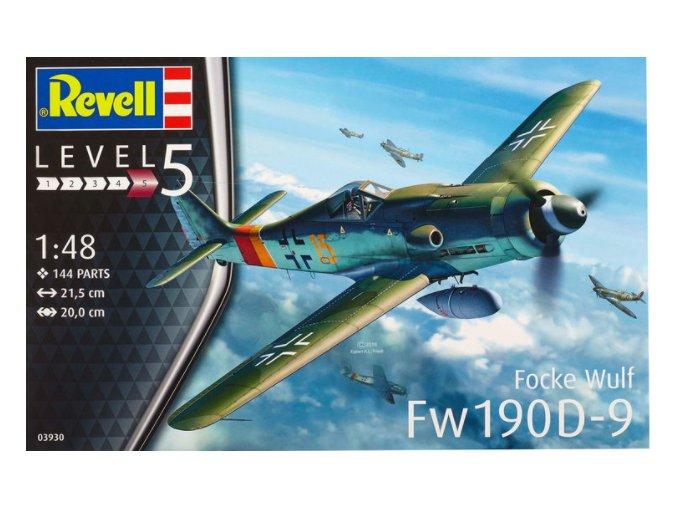 Revell letadlo Focke Wulf Fw 190 D-9 1:48 03930