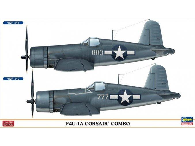 Hasegawa F4U-1 Corsair Combo (2 Kits) 1:72 02032