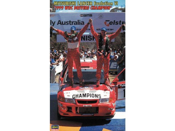 Hasegawa Mitsubishi Lancer Evo VI 1999 WRC Champion 1:24 20303