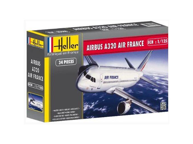 Heller AIRBUS A320 AIR FRANCE 1:125 80448