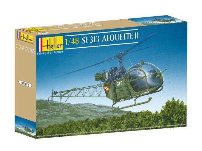 Heller SE-313 Alouette II 1:48 80479