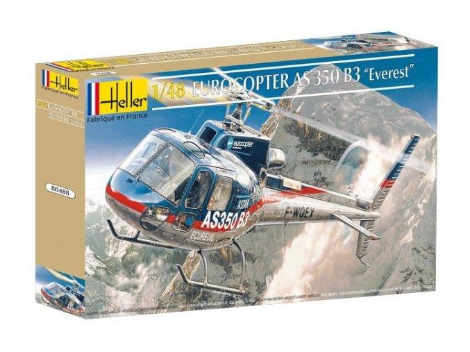 Heller Eurocopter AS 350B3 Everest 1:48 80488