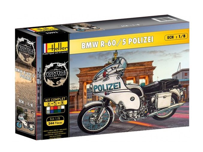 Heller BMW R-60/5 POLIZEI model set 1:8 52993