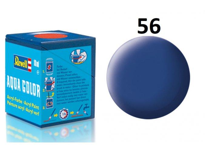 Revell barva akrylová - 36156: matná modrá (blue mat)