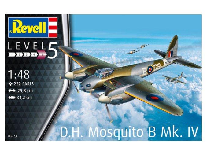 Revell letadlo D.H. Mosquito B 1:48 03923