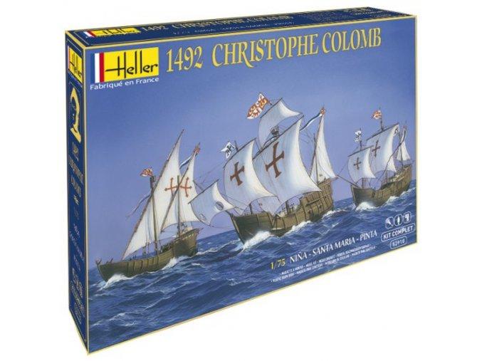Heller Christophe Colomb Nina, Pinta, Santa Maria Model-set 1:75 52910