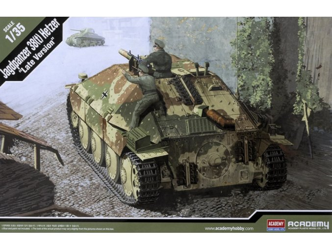 Academy Jagdpanzer 38(t) Hetzer Late 1:35 13230