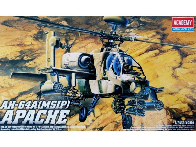 Academy AH-64A MSIP 1:48 12262
