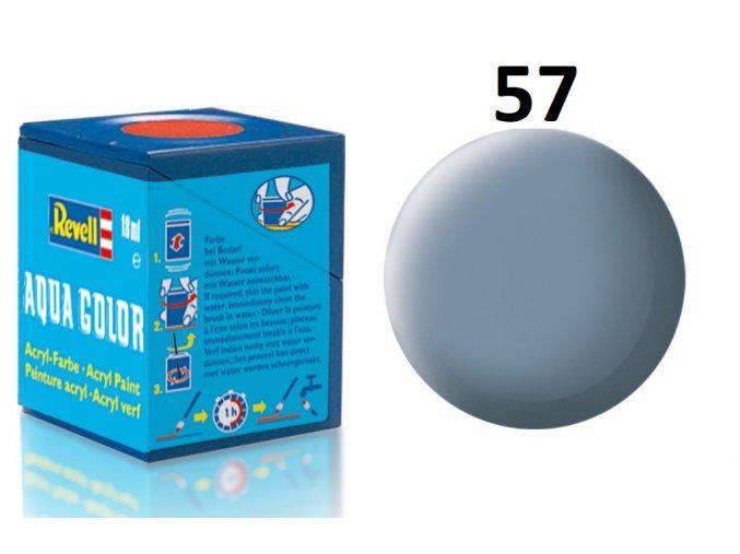 Revell barva akrylová - 36157: matná šedá (grey mat)
