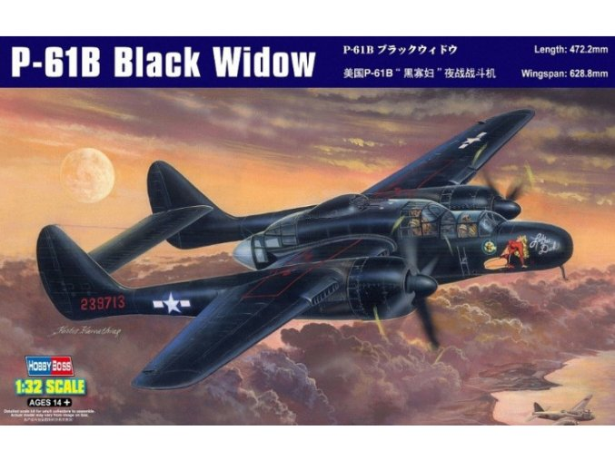 Hobby Boss P-61B Black Widow 1:32 83209