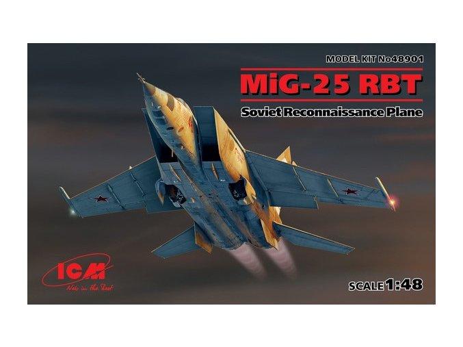 ICM MiG-25 RBT 1:48 48901