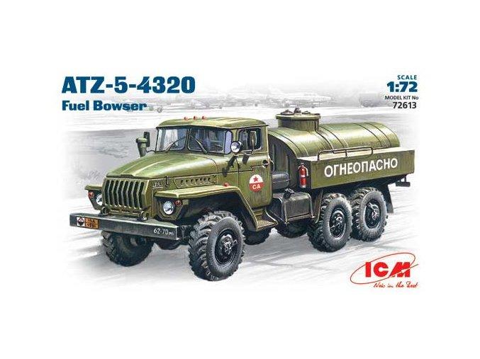 ICM ATZ-5-4320 Ural 1:72 72613