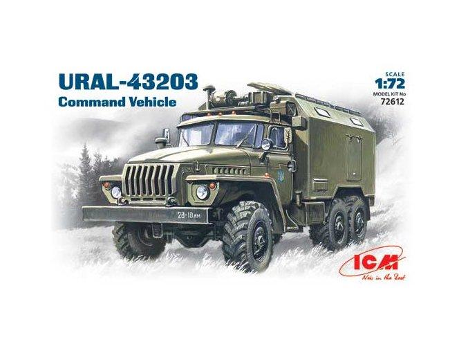 ICM Ural-4320 Command Vehicle 1:72 72612
