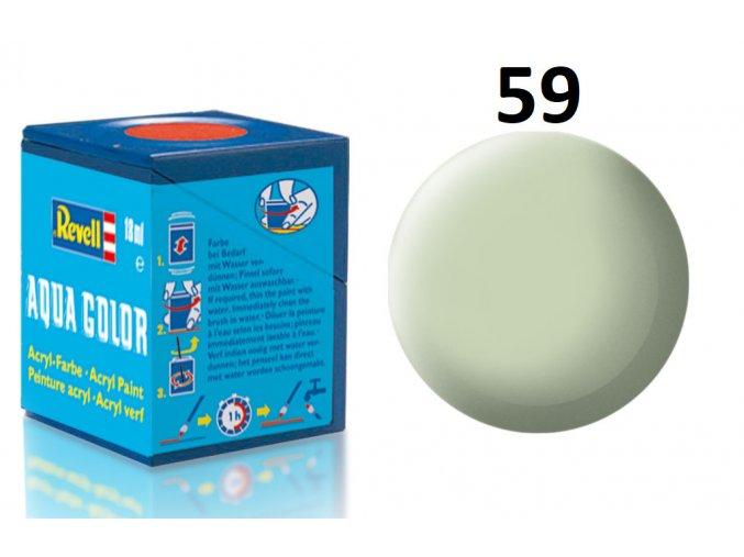 Revell barva akrylová - 36159: matná nebeská (sky mat RAF)