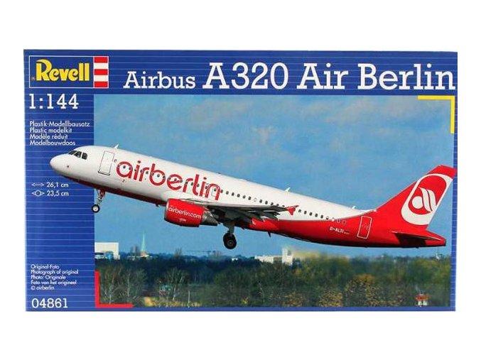 Revell letadlo Airbus A320 Air Berlin 1:144 04861