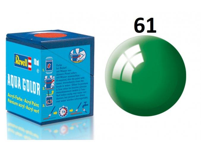 Revell barva akrylová - 36161: lesklá smaragdově zelená (emerald green gloss)