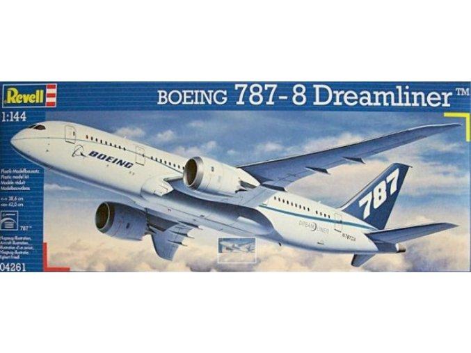 Revell letadlo Boeing 787-8 Dreamliner 1:144 04261