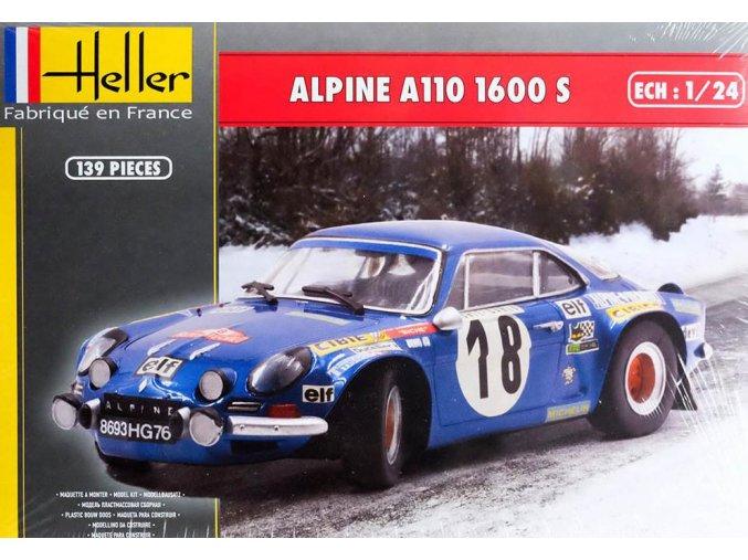 Heller Alpine A110 1600 S 1:24 80745