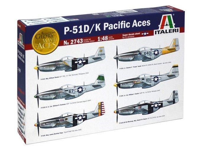 Italeri P51 D/K Pacific Aces 1:48 2743