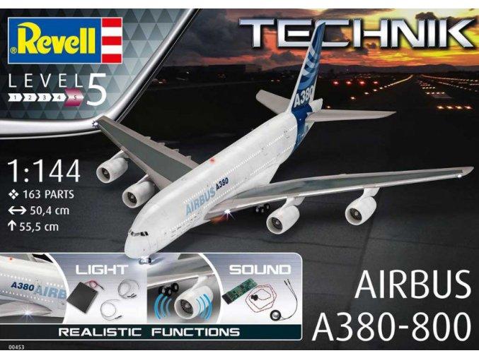 Revell Airbus A380-800 Technik 1:144 00453