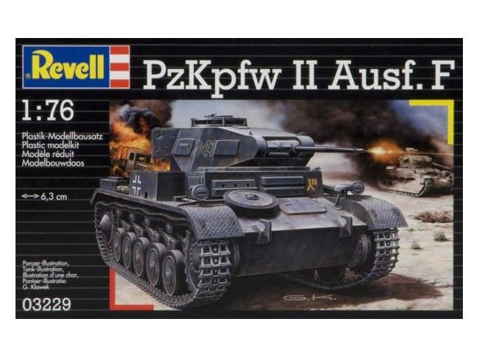 Revell PzKpfw II Ausf. F 1:76 03229