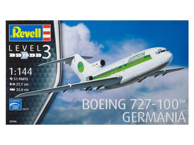 Revell letadlo Boeing 727-100 Germania 1:144 03946
