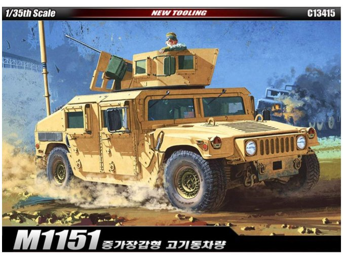 Academy M1151 Enhanced Armament Carrier 1:35 13415