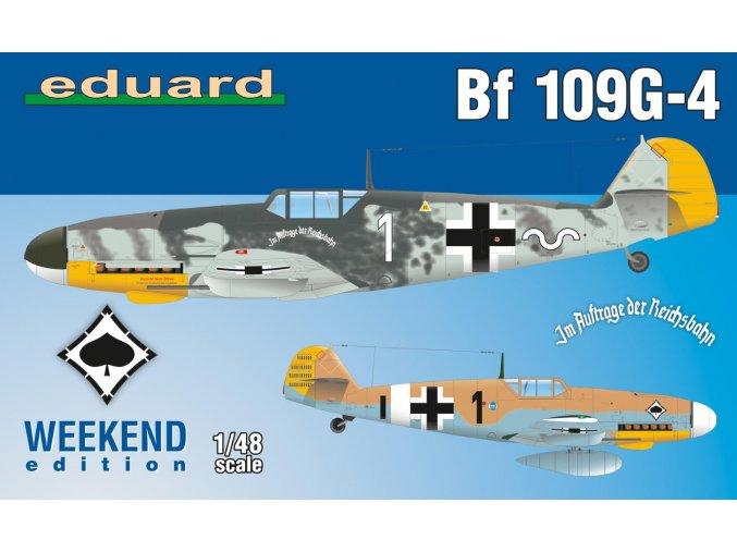 Eduard Bf 109G-4 1:48 84149