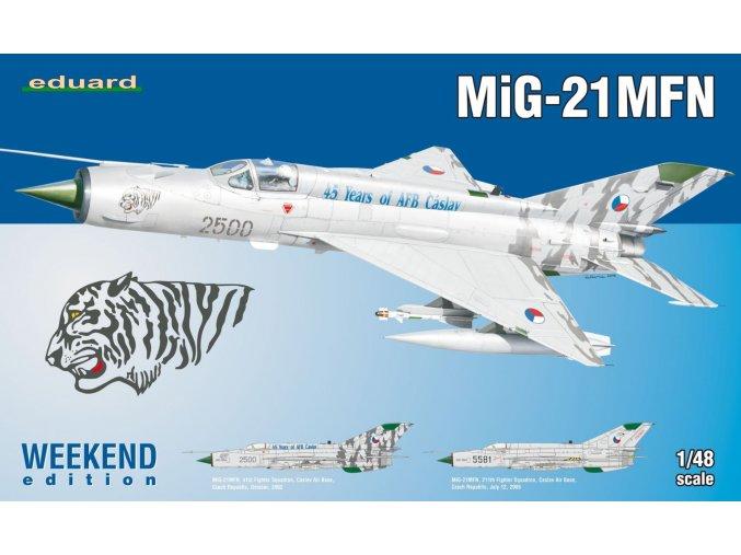 Eduard MiG-21MFN 1:48 84128