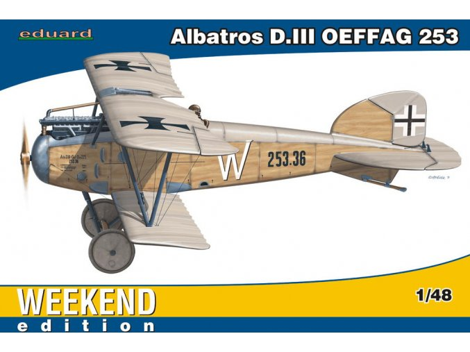 Eduard Albatros D. III OEFFAG 253 1:48 84152