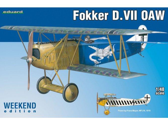 Eduard Fokker D. VII OAW 1:48 84155