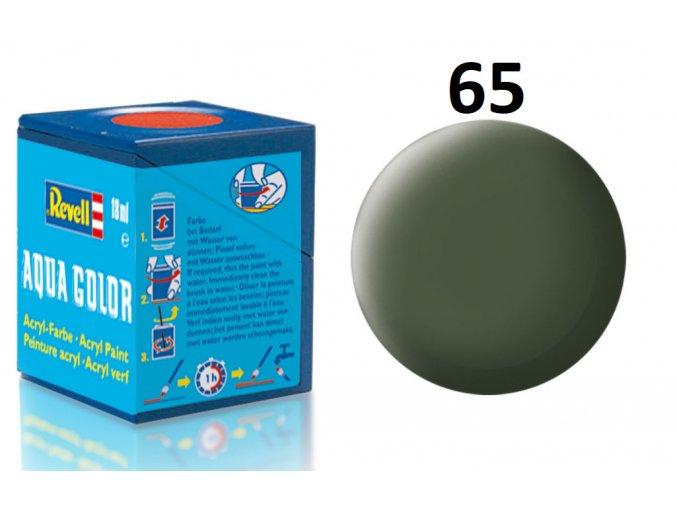 Revell barva akrylová - 36165: matná bronzově zelená (bronze green mat)