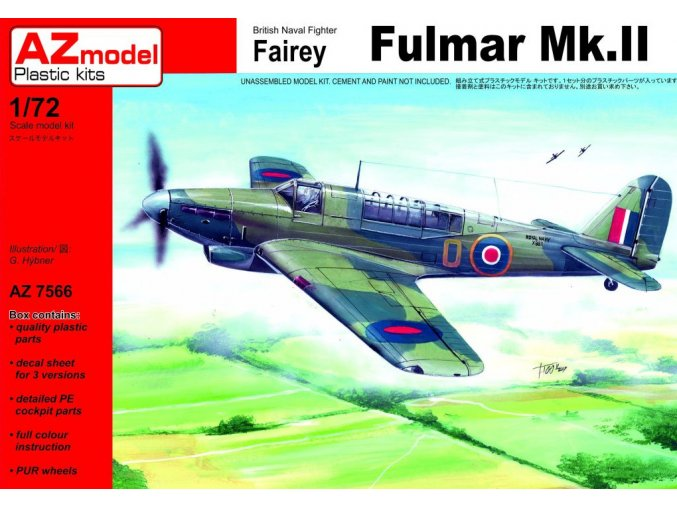 AZ model Fulmar Mk.II 1:72 AZ 7566