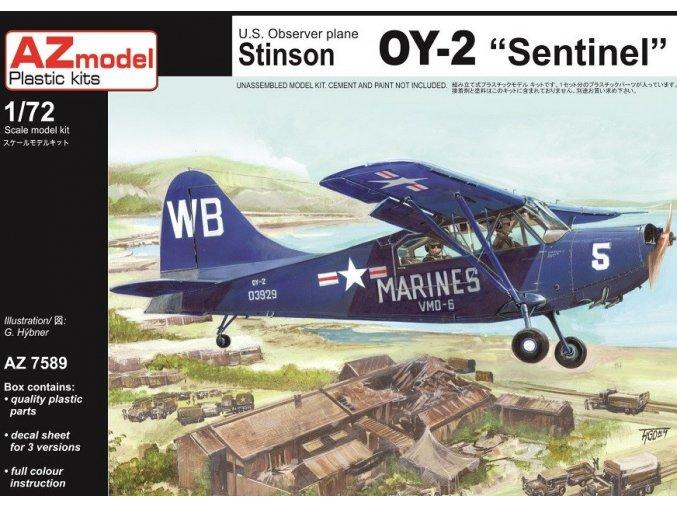 AZ model Stinson OY-2 Sentinel 1:72 AZ 7589