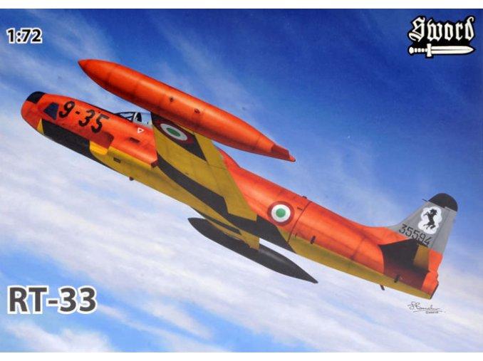 Sword Lockheed RT-33 1:72 72113
