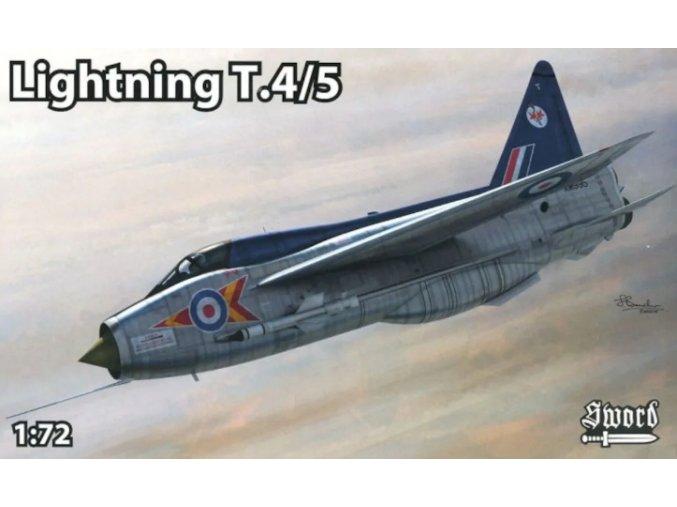 Sword BAC Lightning T.Mk. 4 / T.Mk.5 1:72 72118