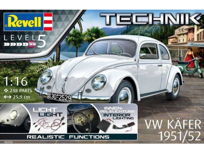 Revell VW Beetle 1951/1952 Technik 1:16 00450