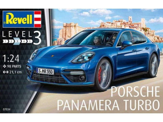 Revell Porsche Panamera Turbo 1:24 07034