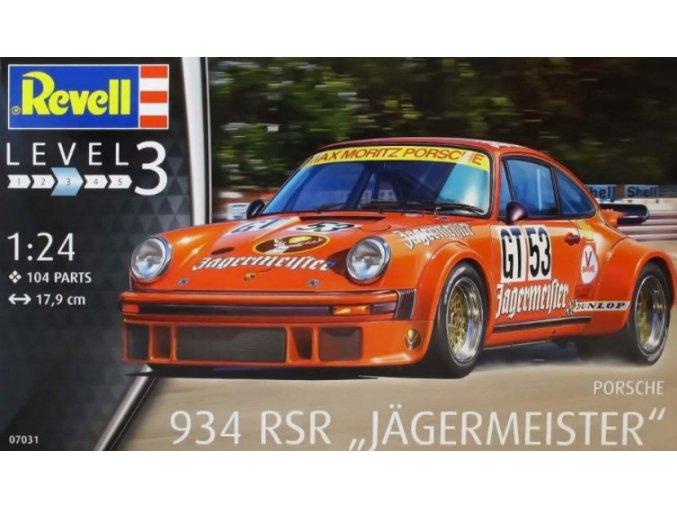 Revell Porsche 934 RSR Jägermeister 1:24 07031