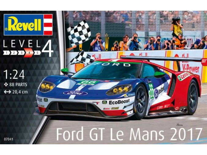Revell Ford GT Le Mans 2017 1:24 07041
