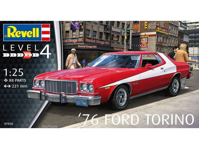 Revell 76 Ford Torino 1:25 07038