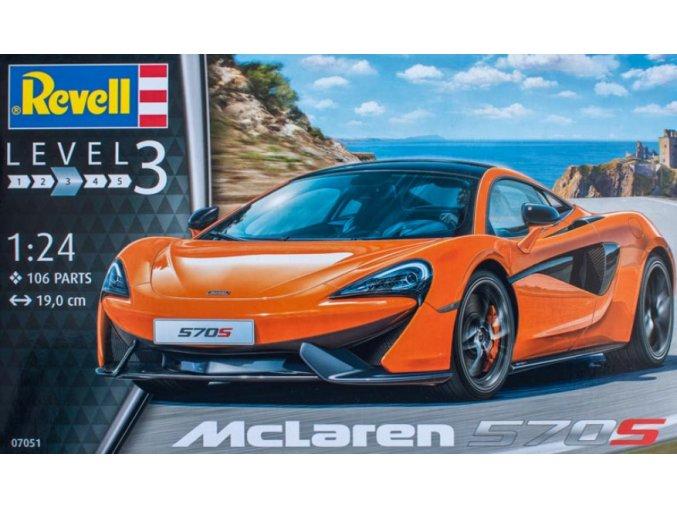 Revell McLaren 570S 1:24 07051