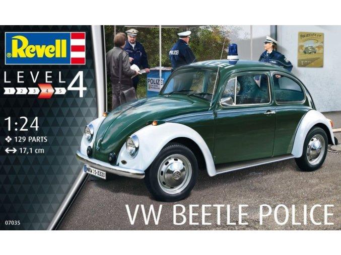 Revell VW Beetle Police 1:24 07035
