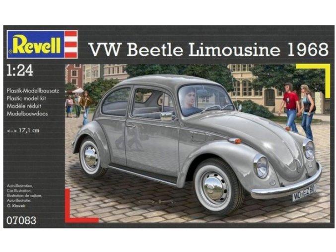 Revell VW Beetle Limousine 1968 1:24 07083